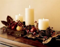 Gorgeous Thanksgiving Holiday Centerpieces