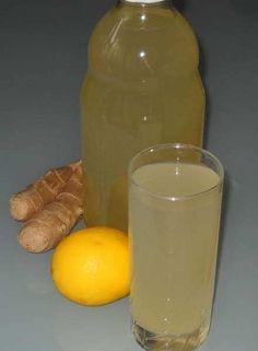 Sok od limuna i đumbira