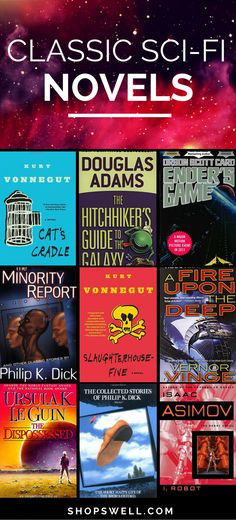 Casey shares his favorite sci-fi novels which many consider to be classic books in the genre. The ultimate sci-fi reading list for true fans.