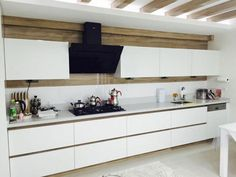 Acrylic Kitchen Cabinets for Your Dream Decorating Kitchen Design - acrylic-kitchen-cabinet-models Kitchen Cabinets Models, Kitchen Cupboards, Kitchen Pendant Lighting, Kitchen Pendants, Küchen Design, Interior Design, Kitchen Ikea, Minimal Kitchen, Kitchens