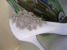 Rhinestone Applique Shoe Clip