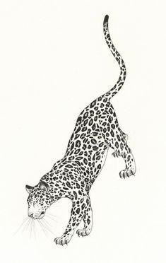 Mini Tattoos, Body Art Tattoos, Tattoo Drawings, Small Tattoos, Cool Tattoos, Leopard Tattoos, Animal Tattoos, Snow Leopard Tattoo, Jaguar Tattoo