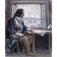 """CHAMPLAIN, SAMUEL DE, draftsman, geographer, explorer, founder of Quebec in 1608, lieutenant to Lieutenant-GeneralPierre DuGua de Monts 1608–12, to Lieutenant-GeneralBourbon de Soissons in 1612, to Viceroy Bourbon de Condé 1612–20, to Viceroy de Montmorency 1620–25, to Viceroy de Ventadour 1625–27; commandant at Quebec in 1627 and 1628, between de Ventadour's resignation and the creation of the Compagnie des Cent-Associés; commander in New France """"in the absence..."""