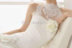 Lace High Neck Bridal Jackets Wedding Wraps Bolero Matched Wedding Dress Elegant Cheap New Fashion Style Sleeveless Hot Sale From Good_sellerdress, $14.94 | Dhgate.Com