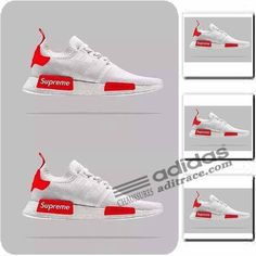 Adidas Supreme NMD_R1 Primeknit Prix Chaussure Homme Blanche/Rouge :aditrace Adidas Nmd Primeknit, Adidas Nmd R1, Adidas Sneakers, Supreme, Shoes, Mens Shoes Uk, Adidas Shoes, Boutique Online Shopping, Red