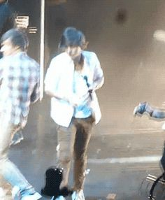 When Liam hit Harry on stage !