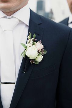 A Chic Rustic Wedding on the Foreshore Groom wearing navy suit with white tie, silver tie bar and white rose boutonniere White Tie Wedding, Wedding Ties, Wedding Groom, Wedding Attire, Rustic Wedding, Wedding Dresses, Navy Tux Wedding, White Rose Boutonniere, Groom Boutonniere