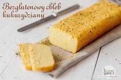 Bezglutenowy chleb z mąki kukurydzianej   Bezglutenowe Kuchenne Wariacje
