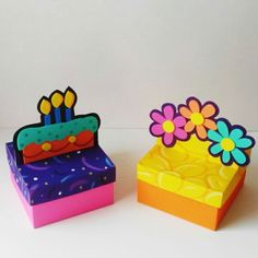 Cajas de regalos Diy Birthday Decorations, Flower Decorations, Diy And Crafts, Paper Crafts, Ideas Para Fiestas, Gift Wrapping Paper, Pop Up Cards, Gift Baskets, Decorative Boxes