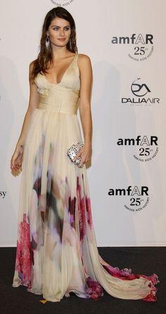 Madrinhas de casamento: Vestido festa estampado: Isabeli Fontana