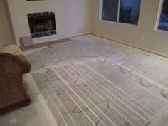 Step By Step Instructions on how to prep and stain or paint concrete floors