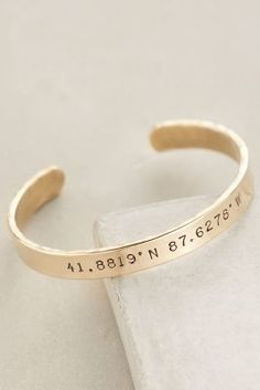 Winifred Grace Coordinates Cuff #anthroregistry #holidaygifts