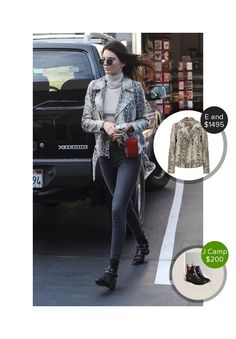 Kendall Jenner shopping in Calabasas - seen in Saint Laurent and Elizabeth and James. #saintlaurent #elizabethandjames  #kendalljenner @dejamoda
