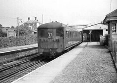 Ardingly Station before closure - photo by Keith Harwood: see Disused Stations Old Train Station, Train Stations, Disused Stations, Antiquities, Buses, Postcards, Abandoned, Trains, Diesel