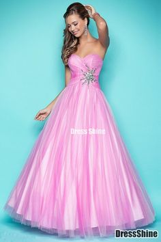 I like this - A Line Sweetheart Tulle and Beading Floor Length Prom Dress. Do you think I should buy it?
