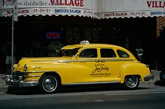old-yellow-taxi