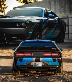 Dodge Wall Art Hellcat Sculpture Dodge Challenger Hellcat 3D printed car