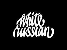 Dribbble - White Russian by Evgeny