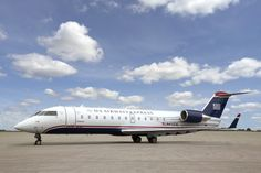 US Airways Express - CRJ 200 (KMKE-KCLT), (KCLT-KMKE)