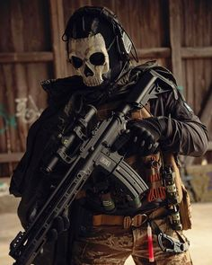 Call Of Duty Warfare, Ghost Soldiers, Army Pics, Fear No Man, Human Dna, Zombie Weapons, Military Special Forces, Hypebeast Wallpaper, Tac Gear