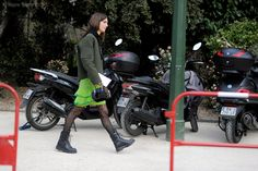 Paris – Ursina Gysi. #PFW, #Fashion, #France, #FW15, #Moda, #Mode, #Paris, #RTW #Fall #Winter, #Street, #StreetStyle, #Style, #Stylist, #UrsinaGysi, #Week, #Woman, #Women Photo © Wayne Tippetts