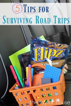 While the destination is almost always a good time when you are headed out on a road trip, the actual ride can be less than fun with kids. Kids who are; tired, hungry, bored, ready to be there, etc… There are some things you can do to make the driving and waiting a little more …