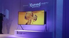Samsung Curved Bendable UHD TV Ultra TV