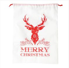 Superseptember Discount PP Non Woven Christmas Drawstring Gift Bags Gift Bags, Shopping Bags, Gifts, Stuff To Buy, Christmas, Xmas, Presents, Goody Bags, Treat Bags