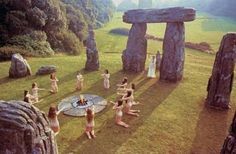 Pagan rituals in north europe