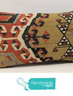Decorative kilim pillow cover 12x20 inch (30x50 cm) Armchair Pillow Lumbar Kilim pillow cover Home Decor Throw Pillow cover Kilim Cushion Cover from Kilimwarehouse https://www.amazon.com/dp/B06XJQ25Q5/ref=hnd_sw_r_pi_dp_f7xXybQA035CE #handmadeatamazon