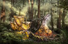 74 photographs, 5 years in the making, the Wonderland series is a deeply emotional collection of works entirely handmade by British fine art photographer Kirsty Mitchell.