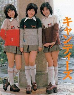 The Candies, Girls Group from Tokyo, 1973 - 1978 Tokyo Street Fashion, Japanese Street Fashion, Nyc Fashion, Fashion History, Retro Fashion, Korean Fashion, Vintage Fashion, Fashion Quiz, Fashion 2020