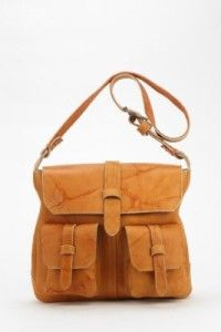 Frye Campus Vintage Shoulder Bag. Practical meets stylish meets old school cool. Bonus, when you wear it you can pretend you're on safari. Or working for the Pony Express.