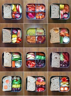 LunchBots stainless steel bento boxes are designed for kids and adults. Easy Healthy Meal Prep, Healthy Lunches For Kids, Toddler Lunches, Lunch Snacks, Easy Healthy Recipes, Lunch Recipes, Kids Meals, Healthy Snacks, Toddler Food