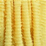 Daffodil yellow mini ruffle fabric I want to make a bikini for Tabitha out of this it would be so cute! Ruffle Fabric, Ruffles, Fabric Suppliers, Mini S, Color Studies, Vintage Marketplace, Daffodils, Sewing Projects