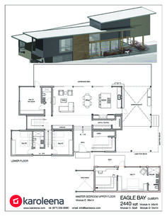 Check out these custom home designs. View prefab and modular modern home design ideas by Karoleena.