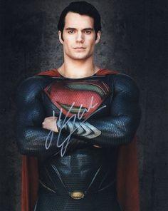 Henry Cavill as SuperMan <3 #ManofSteel #HenryCavill
