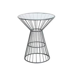 Fashion N You by Horizon Interseas Wire Frame End Table