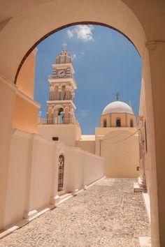 Beautiful Church in Santorini