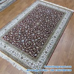 x Double Knots Persian Rug Made By Yilong.