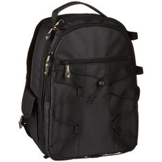 Amazon.com : AmazonBasics Backpack for SLR/DSLR Cameras and Accessories - Black : Photographic Equipment Bags : Camera & Photo