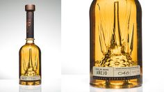 Packaging Spotlight: Handblown crystal Milagro Barrel Select Anejo tequila bottle