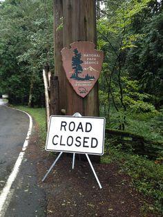 Mt. Rainier National Park: Closed Due to Government Shutdown by NPCA Photos, via Flickr. #KeepParksOpen