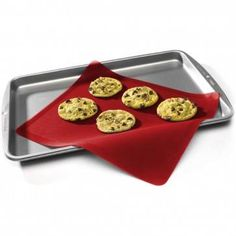 This silicone baking sheet is great for rolling or kneading dough and goes directly from the freezer to the oven. It's perfect for non-stick, low-fat baking! Christmas Treats, Christmas Fun, Silicone Baking Sheet, Kneading Dough, Cookie Exchange Party, Baking Tools, Griddle Pan, Kitchen Gadgets, Oven