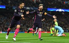 Download wallpapers Lionel Messi, Luis Suarez, Barcelona FC, Spain, football, 4k, football modern stars