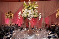 Floral Design, Decor & Centerpieces by MME Event Design & Productions. mmeentertainment.com. Call us now: 877.885.0705 | 212.971.5353