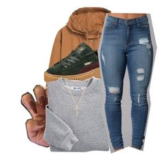 """""""6•10•16"""" by lookatimani ❤ liked on Polyvore featuring MANGO, Puma, Blair and Nephora"""