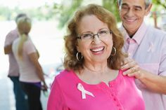 Royalty-free Image: Happy breast cancer survivor with supportive spouse at…