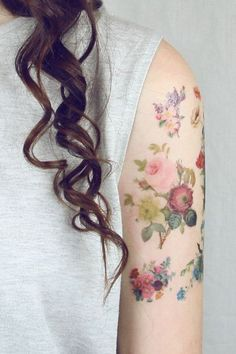 flowers #tattoo #ink