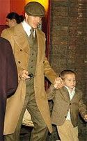Dave Beckham - It helps to have a perfect body but great tailoring is meant to hide imperfections, making the fat look thinner, the short look taller, hiding a paunch etc. In Beckham's case none of that is necessary. Smartly cut suits, newsboy caps, classic aviator sunglasses, odd vests and perfectly tied scarfs make him stand-out when not in a soccer uniform.Roger Stone: The Stone Zone